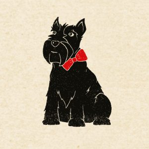 Hamish the Scottie Dog