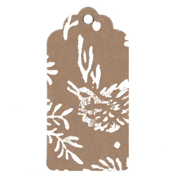 song bird gift tag