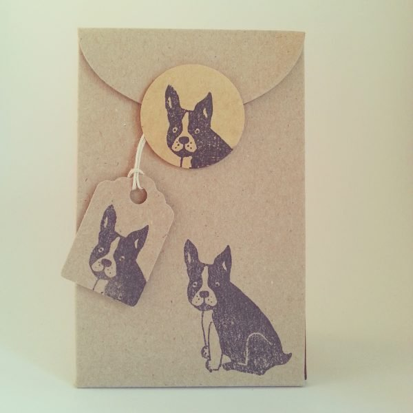 french bulldog gift box, sealed