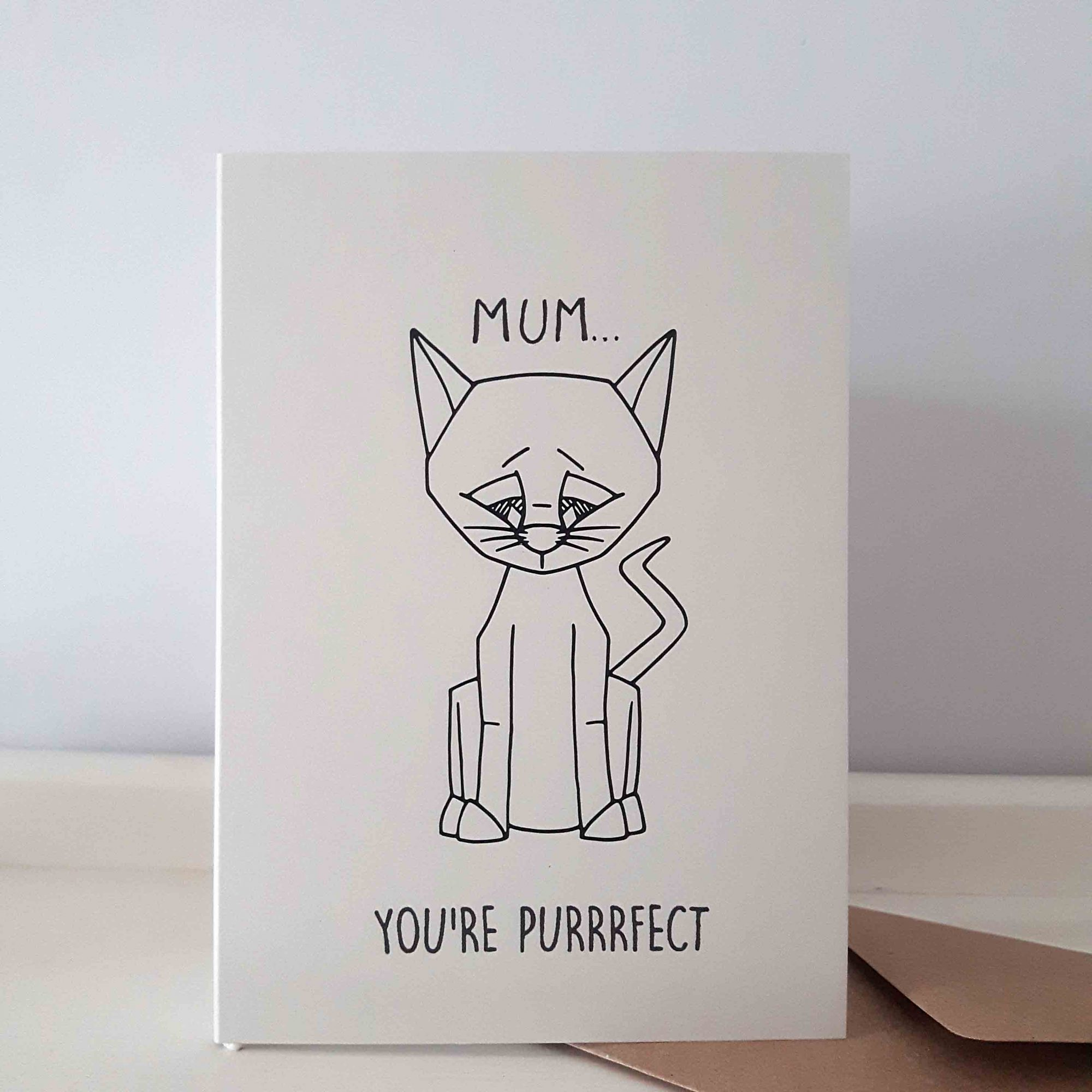 Border Terrier Mothers Day Greeting Card Mum, Mother, Mam, Mummy