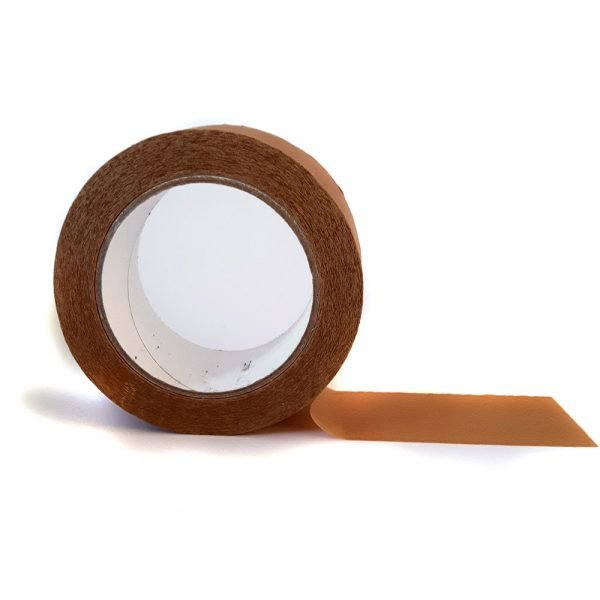 biodegradable parcel tape. Brown tape, 50mm x 50m