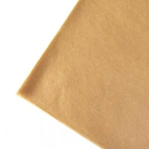 recycled tissue paper sheets. Brown kraft